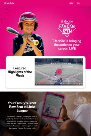 FamCam5g homepage image